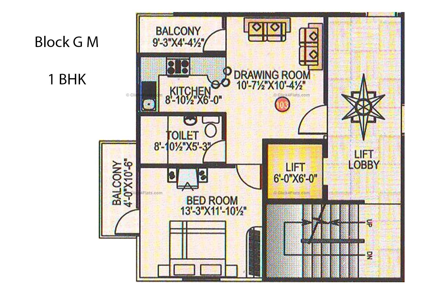 Golden Domes 1 BHK