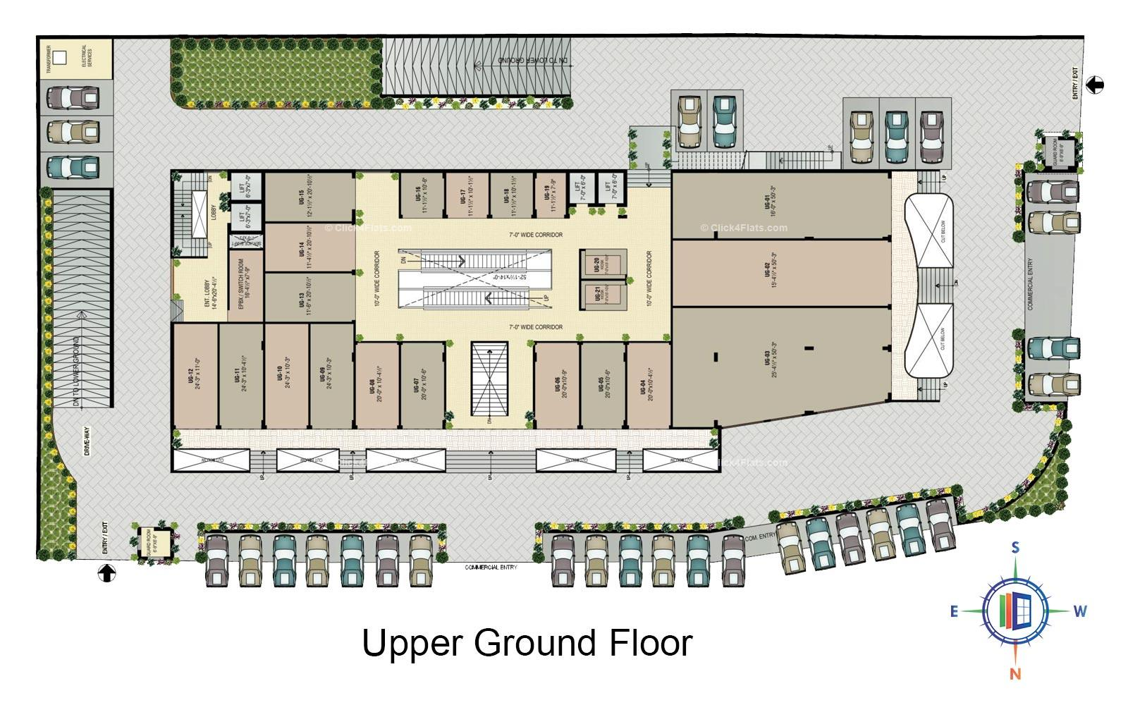 Golden Leaf Upper Ground Floor Plan