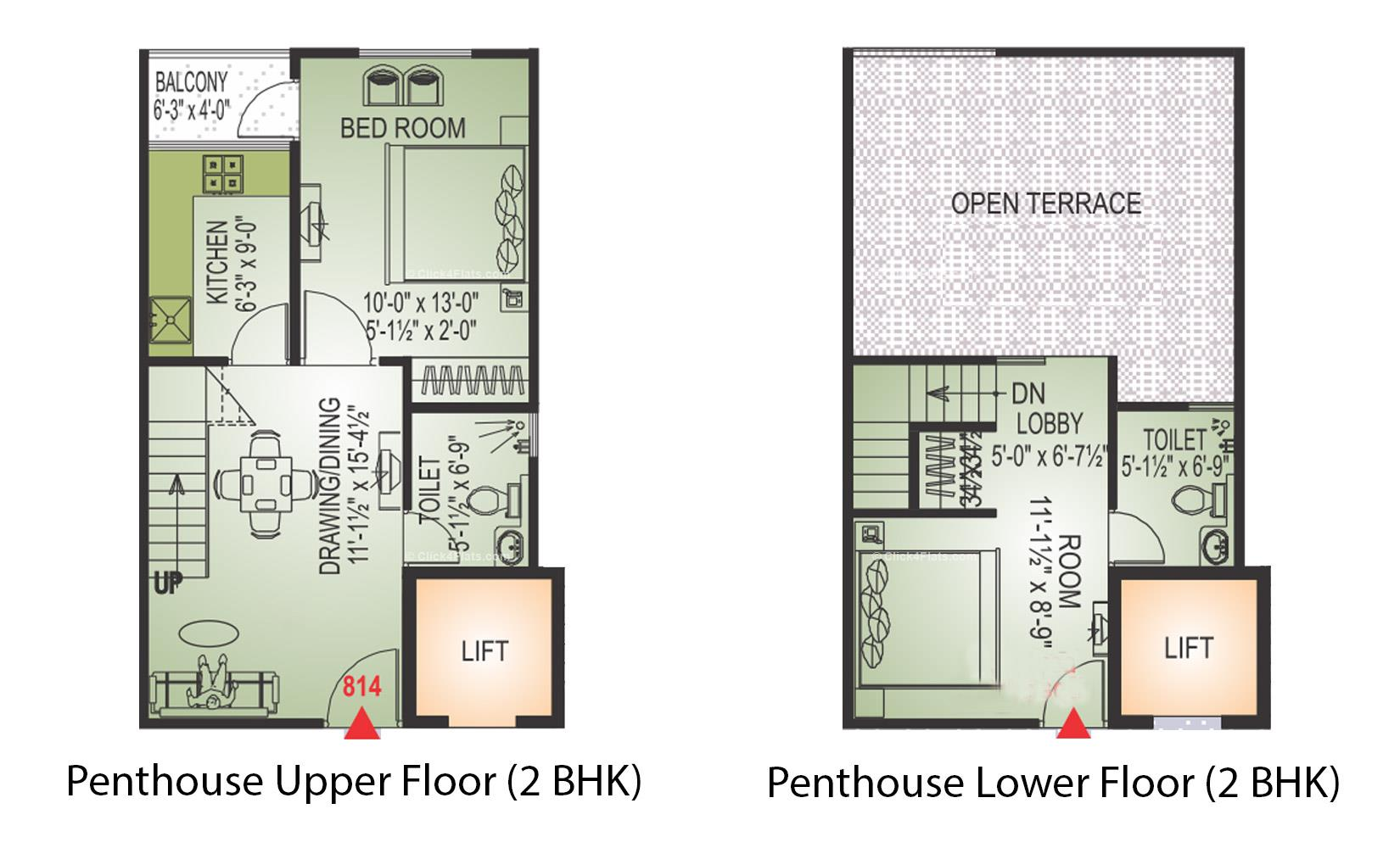KarniKripa Homes 2 BHK