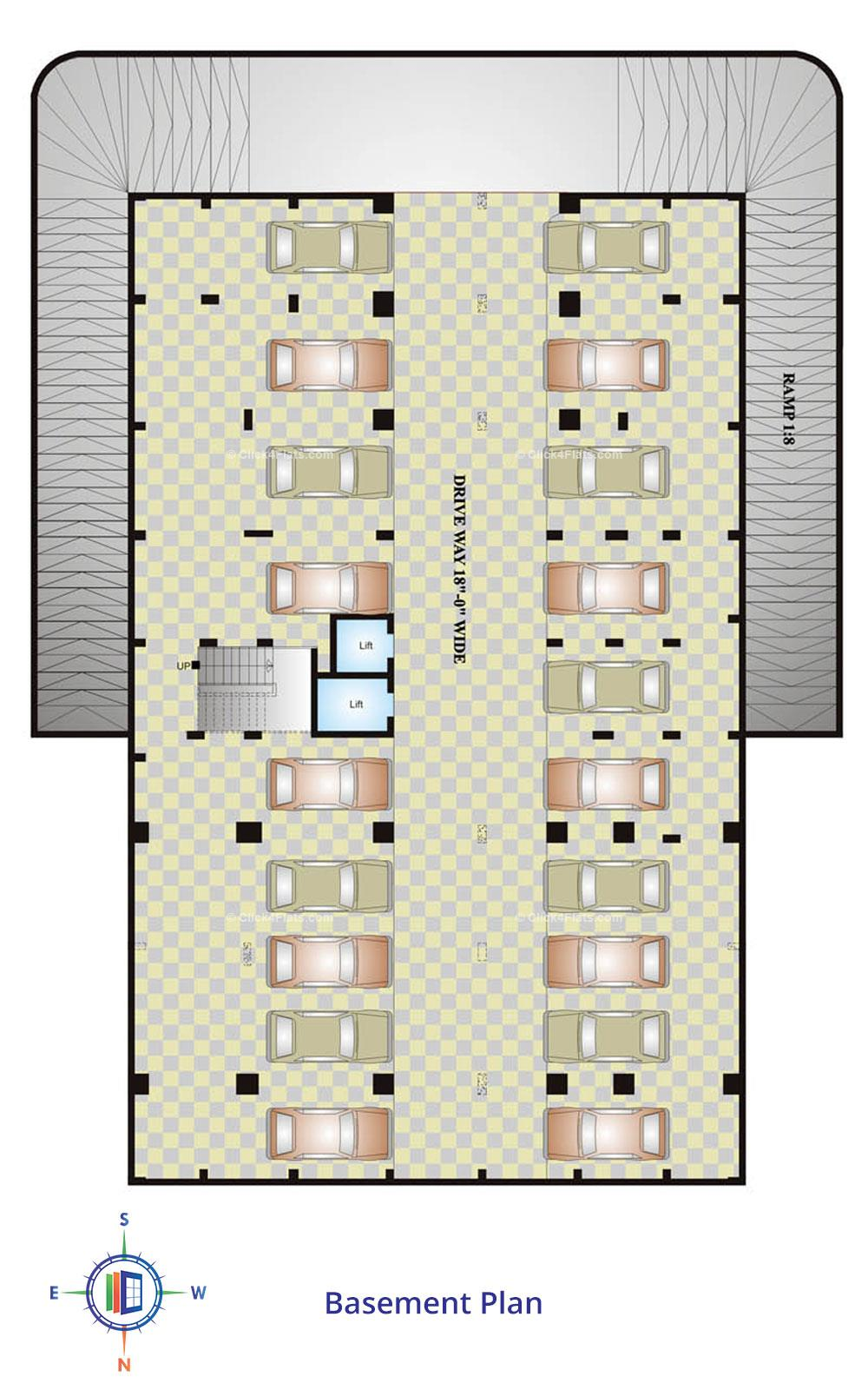 Okay Plus Anand Basement Plan