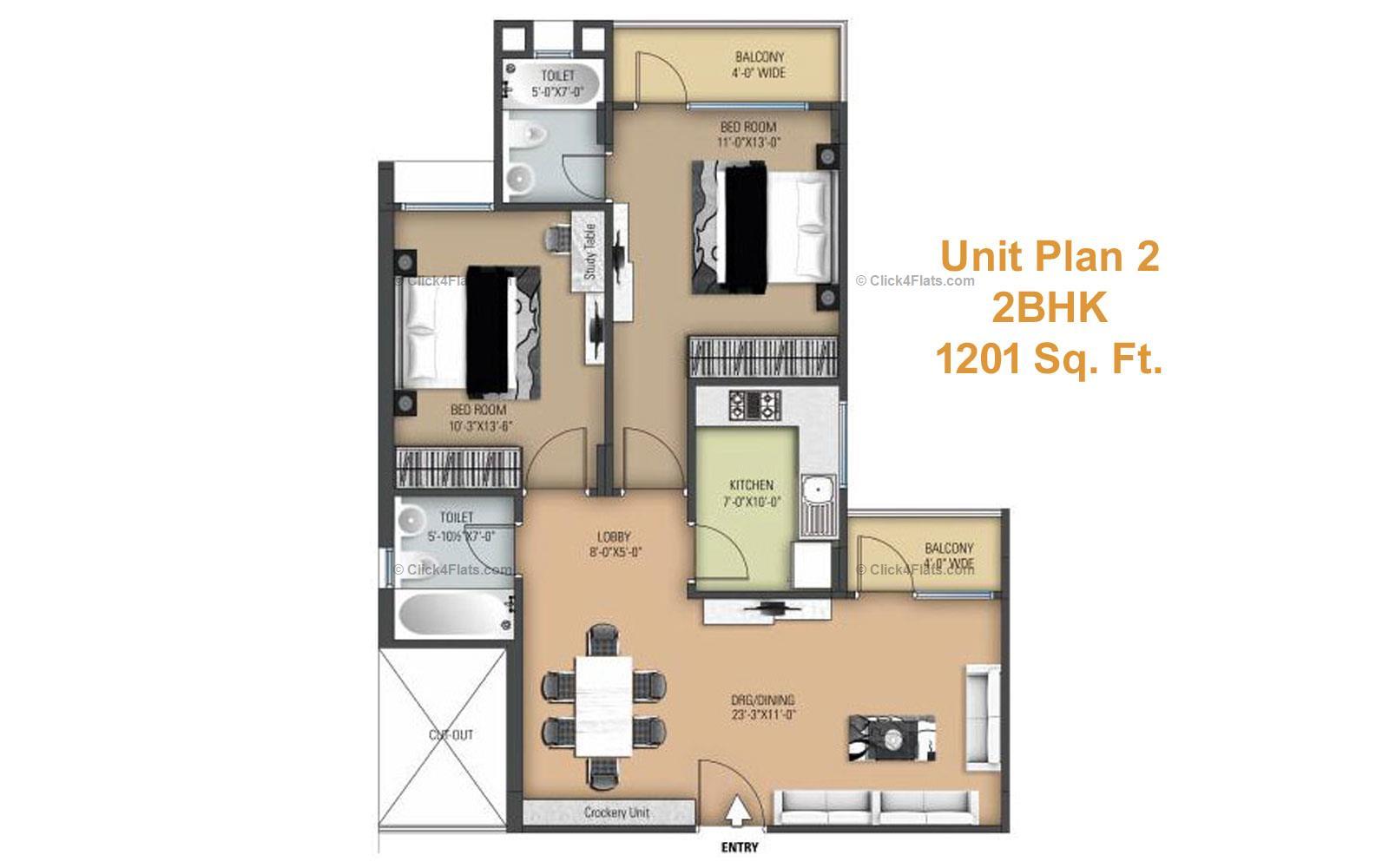 Anukampa Platina Flats For Sale In Anukampa Platina At Patrakar Colony By Anukampa Group Click4flats Com