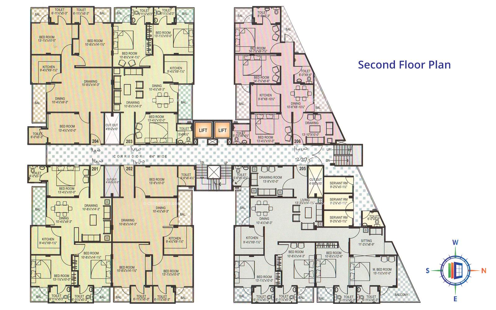 Pearl Orchid Second Floor Plan
