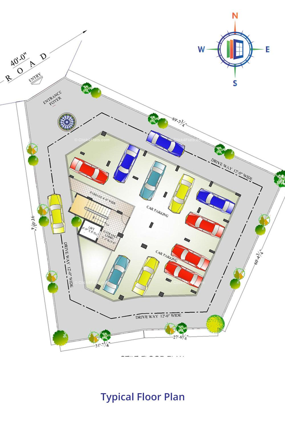 Okay Plus Lakshmi Angan Stilt Floor Plan