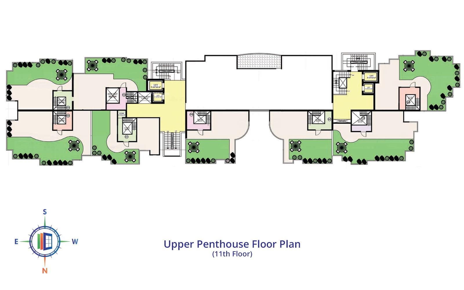 Star Valley Upper Penthouse Floor Plan