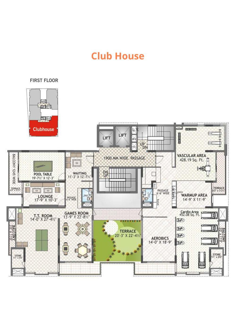 Felicity Irene Usha Tower Club House