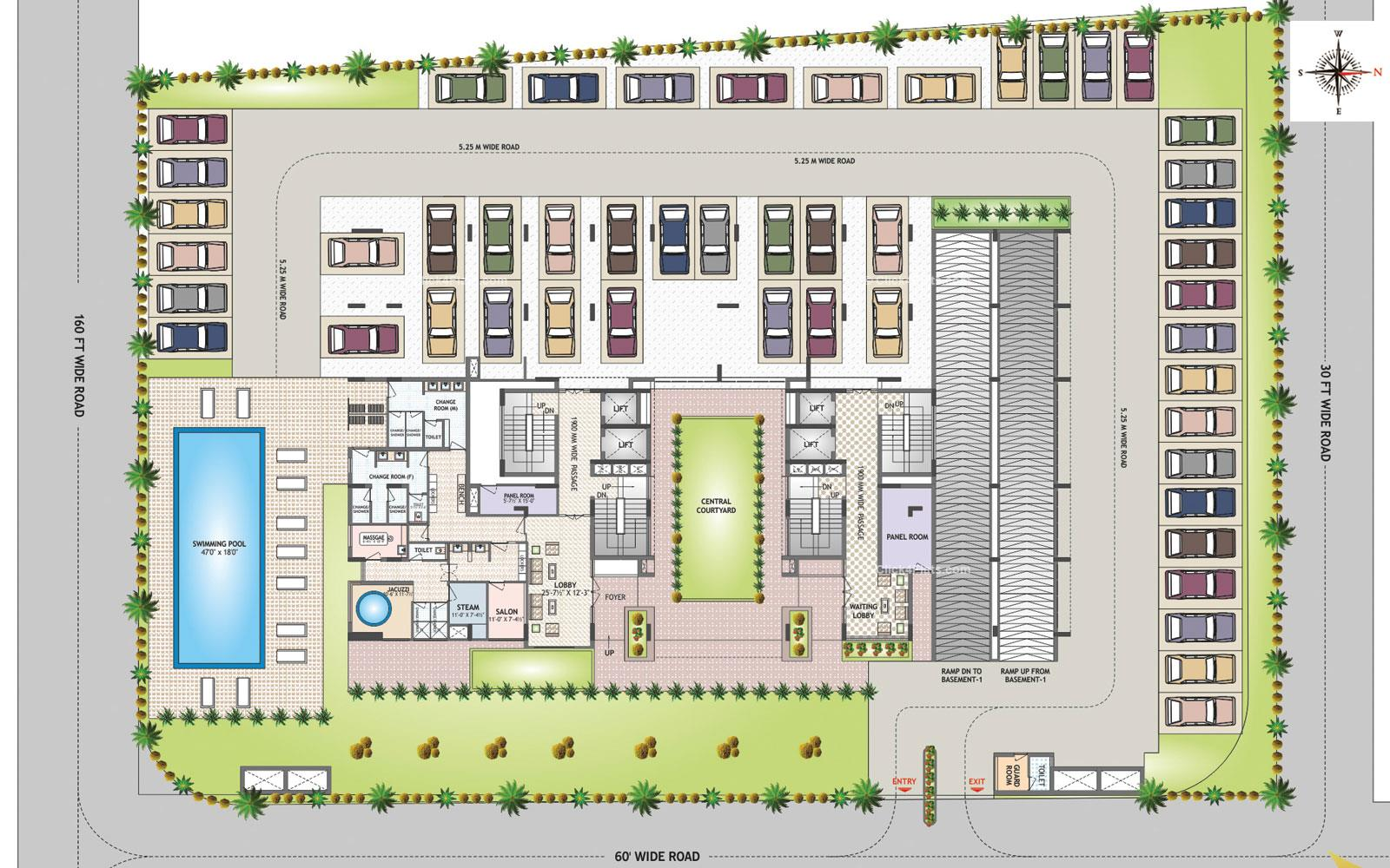 Felicity Irene Usha Tower Stilt Floor Plan