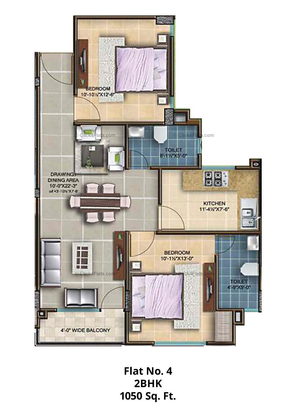 The Royal Twins 2 BHK