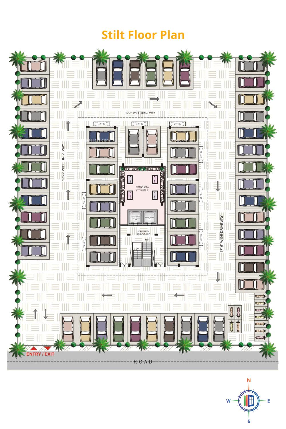 Pearl Palacia Stilt Floor Plan