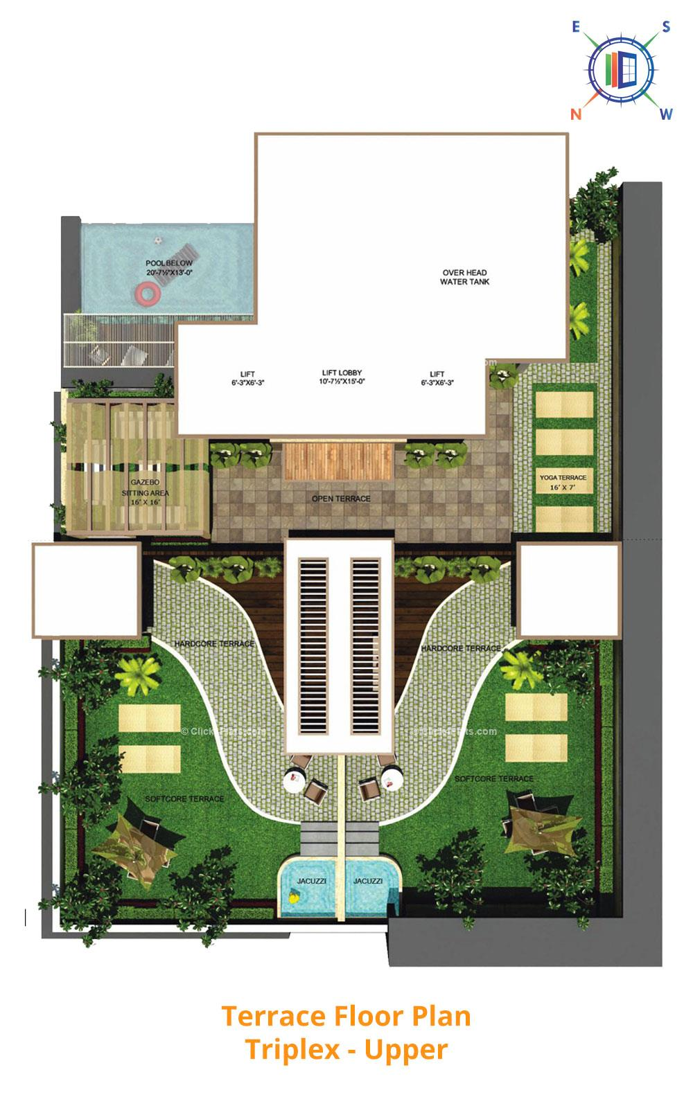 Aralyas Terrace Floor Plan