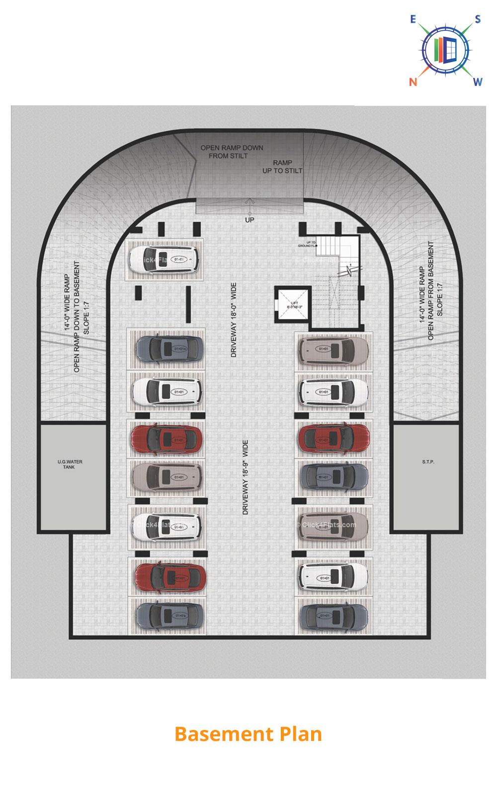 Aralyas Basement Floor Plan