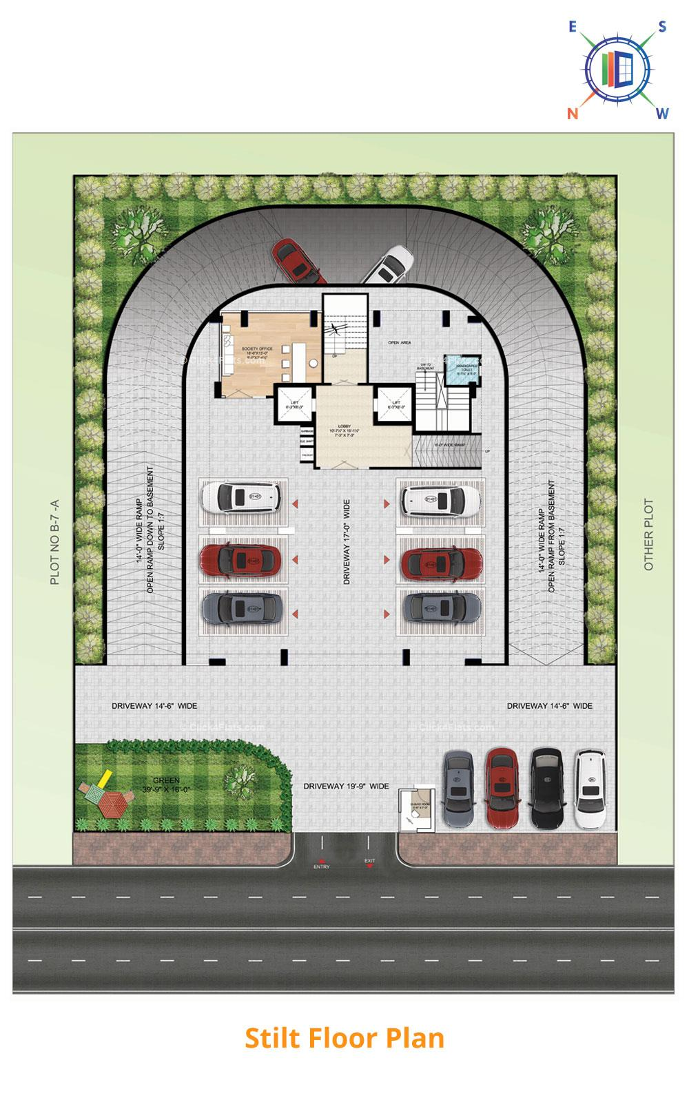 Aralyas Stilt Floor Plan