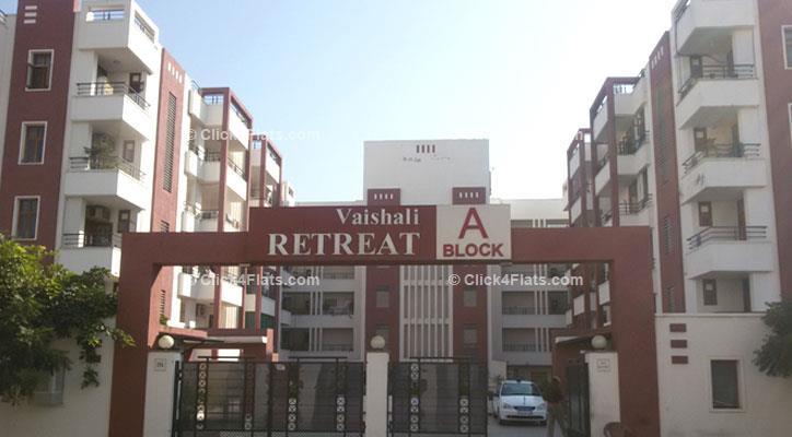 Vaishali retreat flats for sale in vaishali retreat at for F salon vaishali nagar