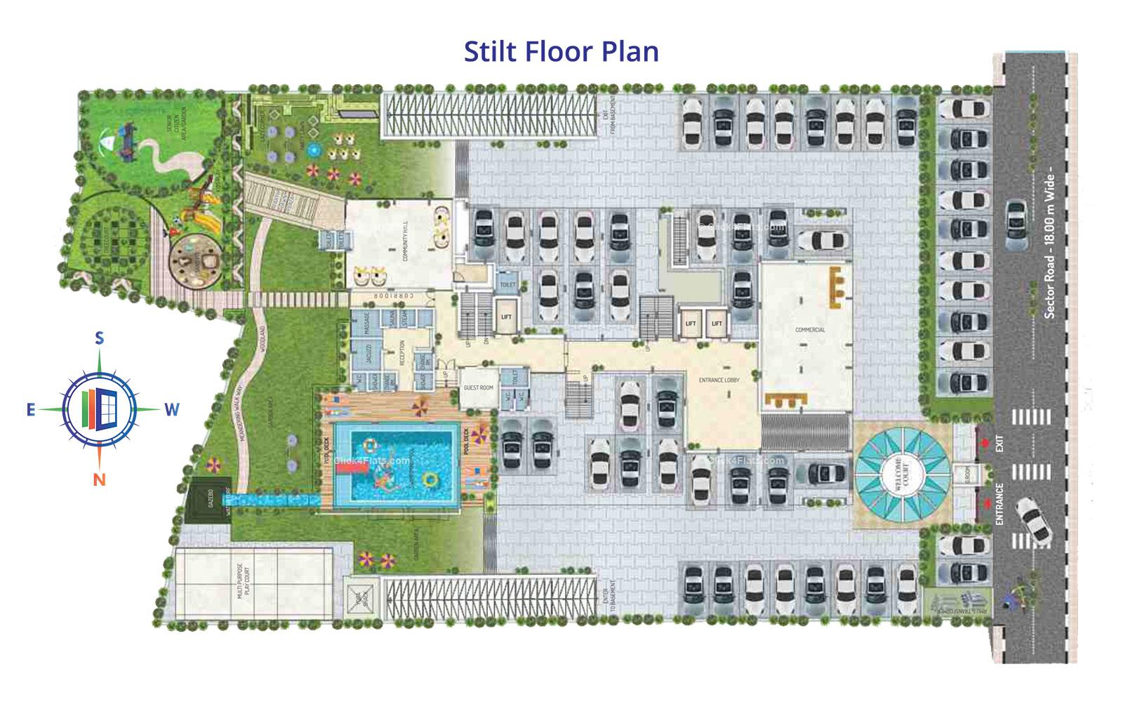 Royal Regalia Stilt Floor Plan