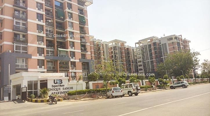 Unique Sanghi Apartments Jaipur